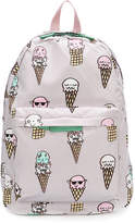 Stella McCartney ice cream print backpack
