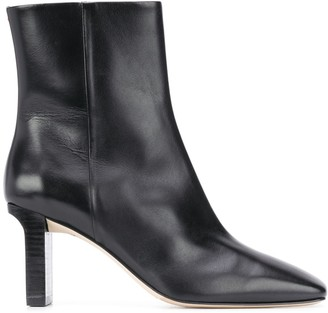 AEYDĒ Billy square toe boots