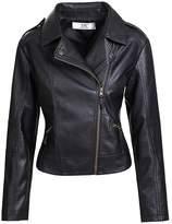 FashionScrapbook Pure Napa Leather Simple 2 Pocket Jacket