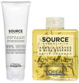 Loréal Professionnel L'Oreal Professionnel Source Essentielle Daily Shampoo and Detangling Hair Cream Duo