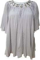 Faith Connexion Grey Cotton Top for Women