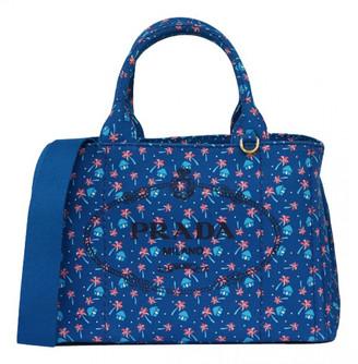 Prada Blue Cloth Bags