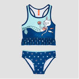 Joe Fresh Toddler Girls' 2 Piece Graphic Swim Set