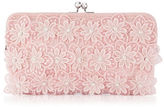 Adrianna Papell Susanna Floral Embroidered Clutch