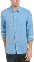 Report Collection Enzyme Washed Linen Woven Shirt