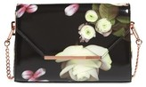 Ted Baker Kensington Floral Crossbody Bag - Black