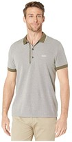 HUGO BOSS Paule 4 Polo (Dark Green) Men's Short Sleeve Knit