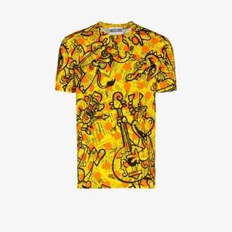 Moschino Newspaper print T-shirt