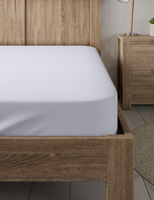 Marks and Spencer Percale 300 Thread Count Fitted Sheet