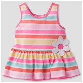 Gerber Graduates® Toddler Girls' Stripes Baby Doll Tunic with Ruffles