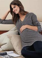 Isabella Oliver Yasmine V-Neck Maternity Top