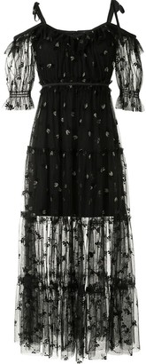 Alice McCall Moon Lover lace-overlay dress