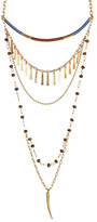 Vince Camuto Multi-Row Moroccan Necklace