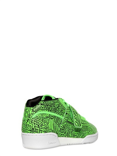 Reebok Work Out Mid Keith Haring Sneakers