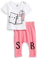 Toddler Girl's Sookibaby Print Tee & Leggings Set