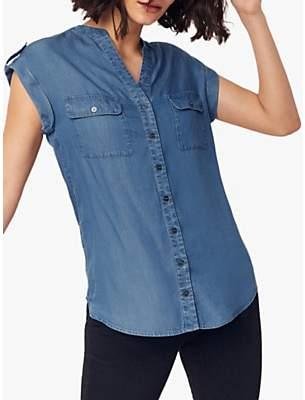 Oasis Utility Denim Shirt, Denim