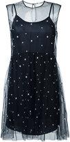 P.A.R.O.S.H. printed stars dress - women - Polyamide/Polyester/Acetate/Viscose - M