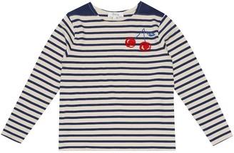 Bonpoint Striped cotton top