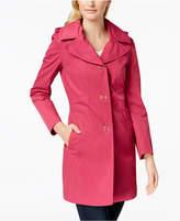 Anne Klein Hooded Lightweight Trench Coat