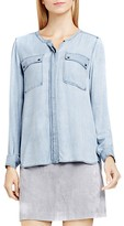 Vince Camuto Two by VINCE CAMTUO Chambray Utility Shirt