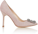 Manolo Blahnik Women's Hangisi Pumps-LIGHT PINK, PINK