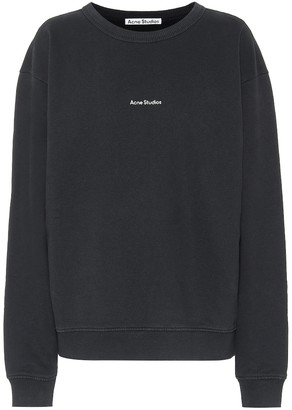 Acne Studios Logo cotton-jersey sweatshirt