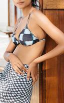Salinas Cortininha Tie-Dye Bikini Top