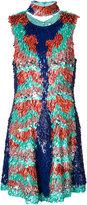 Christian Siriano sequin embellished dress - women - Silk/Sequin - 6