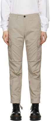 Carhartt Work In Progress Beige Cymbal Trousers
