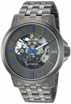 Kenneth Cole New York Male Quartz Watch with Stainless Steel Strap Grey 21 (Model: KC50690001)