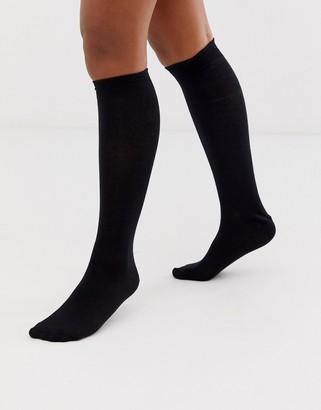 ASOS DESIGN knee high socks