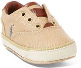 Ralph Lauren Vito Canvas Laceless Sneaker