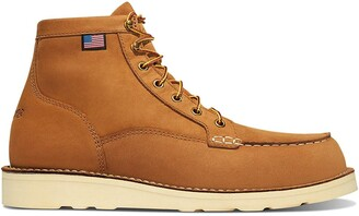 "Danner Men's 15577 Bull Run Moc Toe 6"" Work Boot"