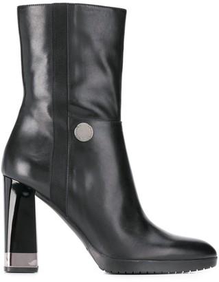 Emporio Armani Chunky-Heel Boots