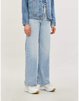 Levi's Wide-leg high-rise jeans