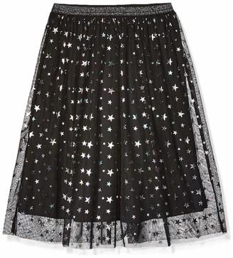 Spotted Zebra Maxi Tutu Skirt Black Stars Medium (8) US