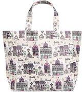 Harrods Small Café Culture Shopper Bag