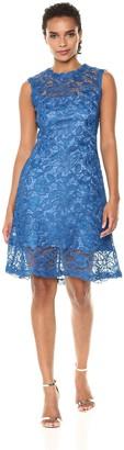Tadashi Shoji Women's Sleeveless Flare Skirt Dress