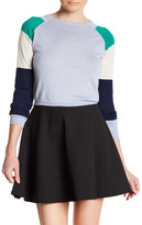 Cynthia Rowley Cashmere Colorblock Cropped Sweater