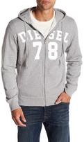 Diesel Gunter Zip Up Sweatshirt