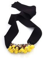 Marni Beaded Crystal Necklace