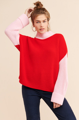 Glamorous Colorblock Pullover