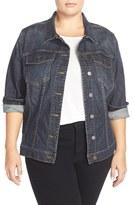 KUT from the Kloth Plus Size Women's Denim Jacket