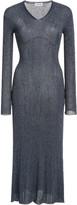 Lanvin Knitted Lurex Midi Dress