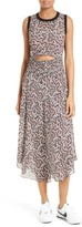 A.L.C. Women's Sandra Cutout Silk Midi Dress