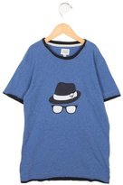 Armani Junior Boys' Printed Crew Neck T-Shirt