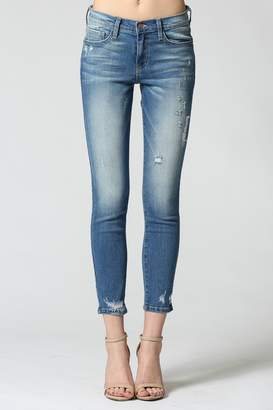 Flying Monkey Laguna Mid Rise Ankle Skinny Jeans