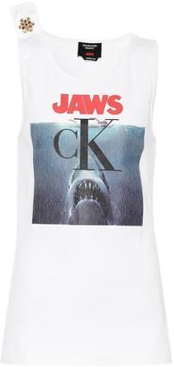 Calvin Klein Crystal-embellished tank top