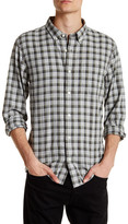 Jack Spade Linfield Herringbone Check Trim Fit Shirt
