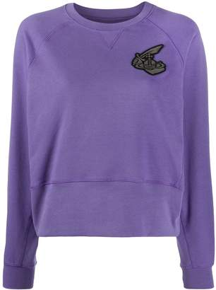 Vivienne Westwood logo embroidered sweatshirt